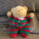 Soft Dreams Green Red My First Christmas Tree Star Rattles Teddy Bear Lovey Plush 8""
