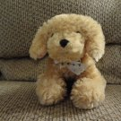 "Fiesta Toy #A12217 Tan Puppy Dog Lovey Plush 10"""