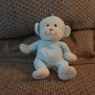 Koala Baby Blue Yellow White Rattles Monkey Lovey Plush 9""