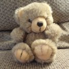 "Vintage Mary Meyer Tan Teddy Bear Lovey Pastel Bow Plush 7"""