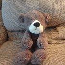 """NWT Gund G5.0 Brown Fluffy Soft Take Along Teddy Bear Lovey Plush 15"""""""