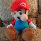 2010 Nintendo Target Red Blue Mario Backpack Plush 19""