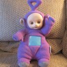 Vintage 1998 Playskool Hasbro Teletubbies Talking Tinky Winky Purple Blue Screen Lovey Plush 18""