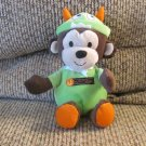 """Carters Just One You My first Halloween Rattle Monster Hat Monkey Lovey Plush 9"""""""
