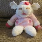 1990 Shari Lewis Enterprises Inc Dayton Hudson Baby Lamb Chop Button Hand Puppet Pacifier Plush
