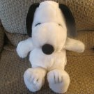 """Kohls Cares For Kids Peanuts Snoopy Red Collar Furry Beagle Puppy Dog Plush 15"""""""