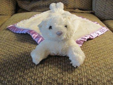My Banky February Birthstone Small Teddy Bear Security Blanket Lovey Plush