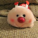 Vintage Russ Berrie #108 I'm A Love Bug Pink Red Hearts Antenia Rosey Cheeked Ladybug Lovey Plush 7""