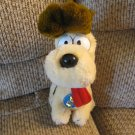 WT Vintage 1983 Dakin United Features Garfield Odie The Dog Long Tongue Puppy Dog Plush 11""