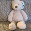 WT Jellycat BABB3BR Medium Babbington Bear Tan Lovey Teddy Bear Plush 12""
