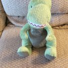 Kohls Cares For Kids Curious George T-Rex Dinosaur Scaly Green Lovey Plush