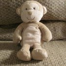 """Carters Just One You Tan Monkey Brown Sewn Eyes Mouth Nose Lovey Plush 9"""""""