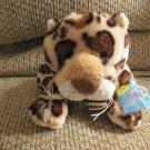 "WC Ganz Webkinz #HM182 Spotted Leopard Lovey Plush 15"""