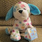 "WC Ganz Webkinz #HM440 Peace Puppy Lovey Plush 11"""