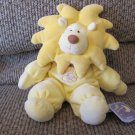 NWT TriRuss Int'l Target Roarie Yellow Lion Moon Stars Comfy Rattles Lovey Plush 11""