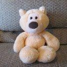 "Gund G5.0 Orange Cream Fluffy Soft Take Along Tan Teddy Bear Lovey Plush 15"""