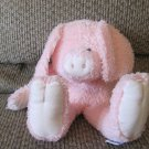 """2001 Baby Boyds Collection Pink Pig Piglet Lovey Plush 13"""""""