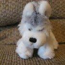 "NC Ganz Webkinz #HS120 Lil Kinz Husky Small Puppy Lovey Plush 10"""