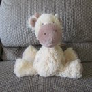 """First Impressions Yellow Tan Spotted Giraffe Sewn Eyes Lovey Plush 9"""""""