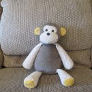 2010 WSP Scentsy Buddy Mollie The Monkey Fluffy Waffle Brown Tan Lovey Plush