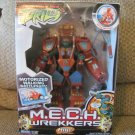 NBO Teenage Mutant Nija Turtles Playmates Battery Operated MECH Wreckers Mike