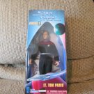 NBO Vintage 1997 Playmates Paramount Pictures Star Trek Collector Series #001472 Lt Paris