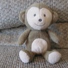 Carters Just One You 63014 Brown Boy Monkey Just For Play Rattles Lovey Plush
