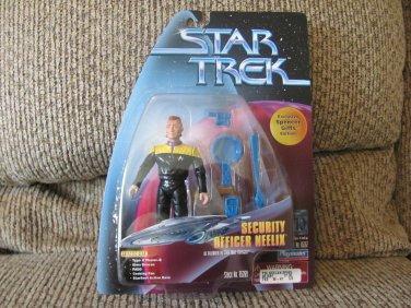 NBO Vintage Playmates Paramount Pictures Star Trek Stock #65269 Security Officer Neelix