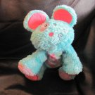 """Mary Meyer Cheery Cheeks Lil Mopsy Blue Mouse Lovey Plush 9"""""""