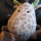 "Carters #72081 Brown Giraffe Musical Wind Up Twinkle Twinkle Toy Lovey Plush 9"""