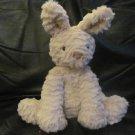 "Jellycat JCINC2217SH Tan White Tail Soft Bunny Rabbit Lovey Plush 10"""