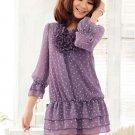 B238 Women's plus sizes blouse (summer & spring)