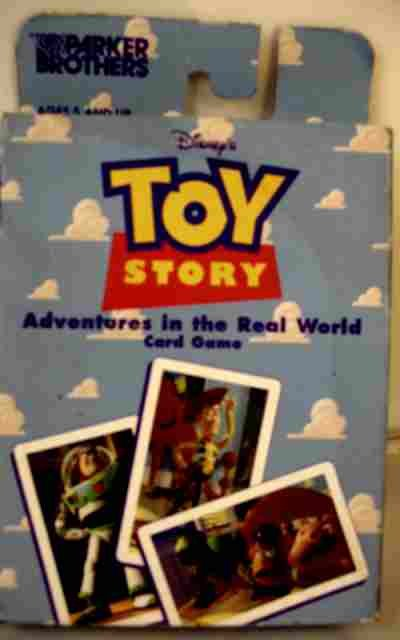 DISNEYs TOY STORY ADVENTURES IN REAL WORLD CARD GAME!