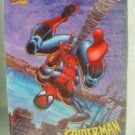 NICE LITHOGRAPHED SPIDERMAN METAL POSTER W/DESK PROP.