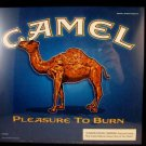 OLDER CAMEL ADVERSTISING SIGN, PLASTIC STICK ONE MINT
