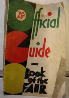 ORIGINAL 1933 CENTURY OF PROGRESS FAIR GUIDEBOOK