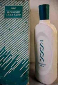 AVON SKIN SO SOFT FIGURAL BOTTLE RADIO MINT IN BOX!  FREE USA SHIPPING!!!