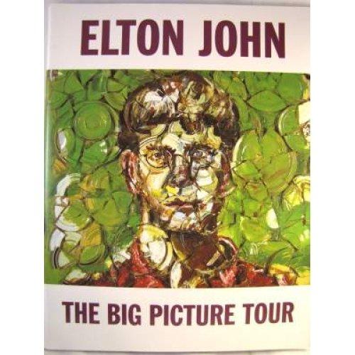 ELTON JOHNS PICTORIAL BIG PICTURE TOUR BOOK!*