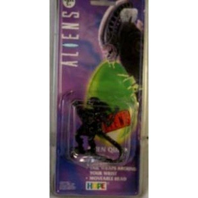 Aliens Queen Alien figural watch, mint on card. Really coool black alien figure