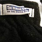 "Pair soft black gloves marked ""The Humane Society of the United States""one pair"