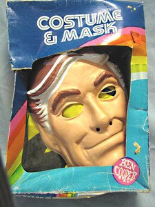 Bionic Six Jack Bennett (Bionic 1)Ben Cooper costume and mask in box.
