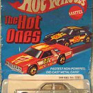 1981 vintage Hotwheels The Hot Ones 380 SEL  MOC blue carded FREE USA SHIPPING