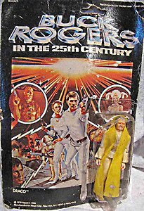 Buck Rodgers in 25th Century TV SHOW Mego Draco evil action figure MOC