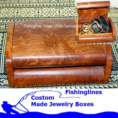 Exotic Macau Handcrafted SMALL ROUND Edged Jewelry Box � FREE Shipping WORLDWIDE