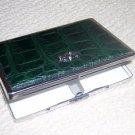 Green Carpisa card-sigarette holder