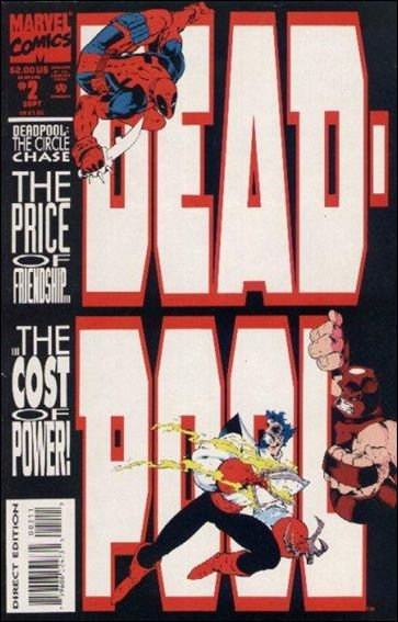 Deadpool The Circle Chase #2 VF/NM