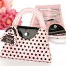 'Pink Polka Purse' Manicure Set