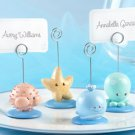 """Beach Buddies"" Seashore Place Card/Photo Holders (Set of 4)"