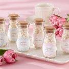 """""""Vintage"""" Personalized Milk Bottle Favor Jar (Set of 12)"""