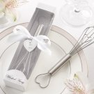 """""""Whisked Away"""" Heart-Shaped Stainless-Steel Whisk in White Box"""
